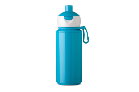Popup water bottle turquoise - 275ml