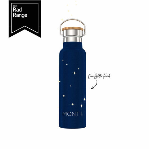 MONTIICO ORIGINAL DRINK BOTTLE - MIDNIGHT GLITTER