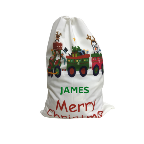Personalised Christmas Sack - Santa's Express