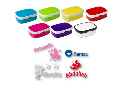 Kids midi bento lunch box  personalised by us!