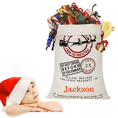 Personalised Christmas Sack - Express Delivery