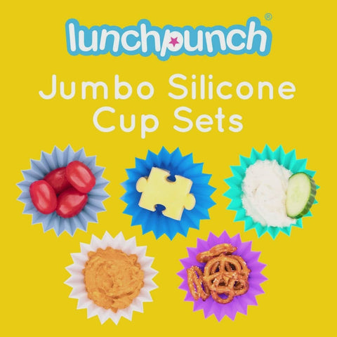 LUNCH PUNCH JUMBO SILICONE CUPS