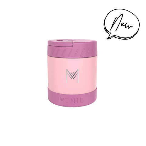 MONTIICO INSULATED FOOD JAR - DUSTY PINK