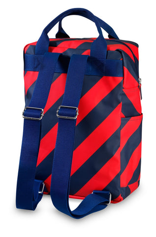 Backpack large 'Stripe Navy'