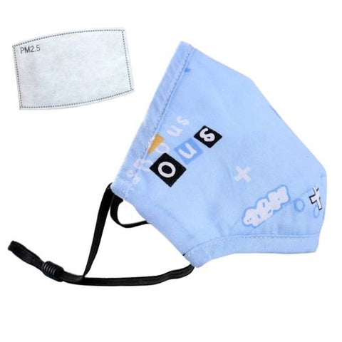 Kids' Face Mask Blue