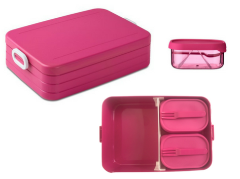 Take a break bento box large - Pink