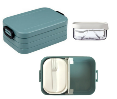 Take a break bento box - Nordic green