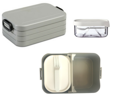 Take a break bento box - Silver