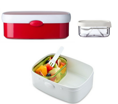 Campus bento box - Red