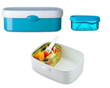 Campus bento box - Blue
