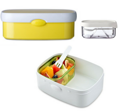 Campus bento box - Yellow