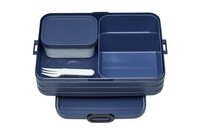 Take a break bento box large - Nordic Denim