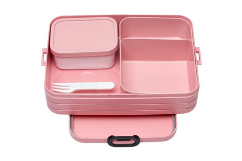 Take a break bento box large - Nordic Pink