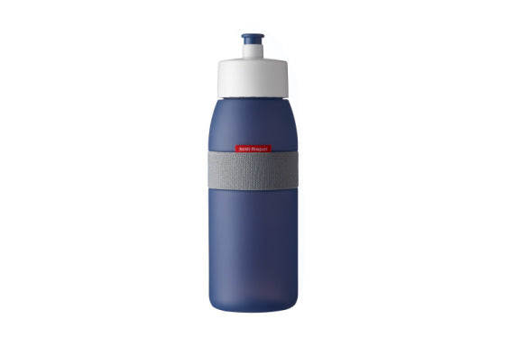 Sports Bottle Ellipse 500ml - Nordic Denim