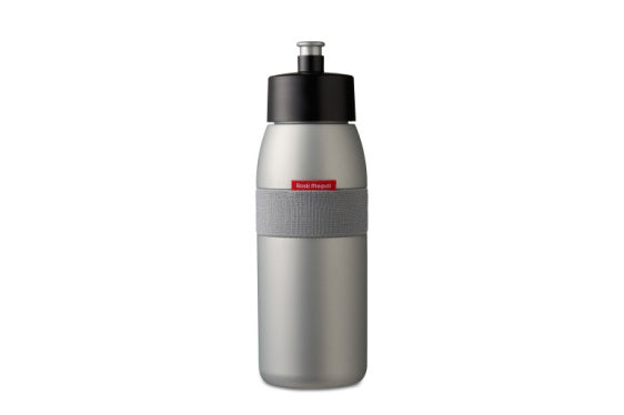 Sports Bottle Ellipse 500ml - Silver