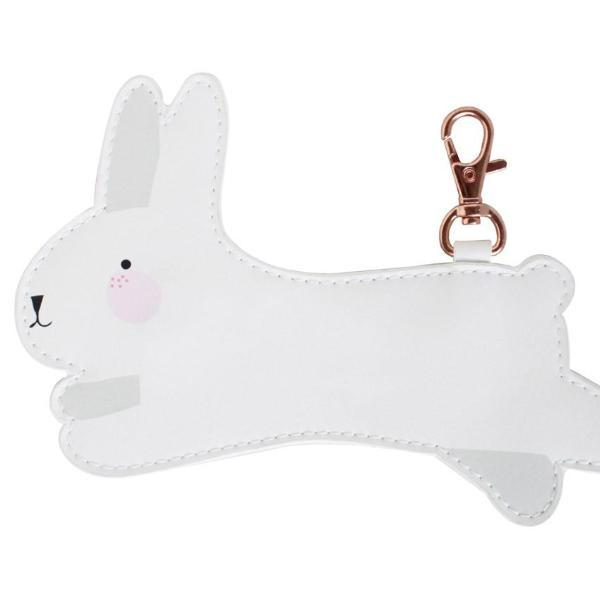Little Coin Purse - White Bunny