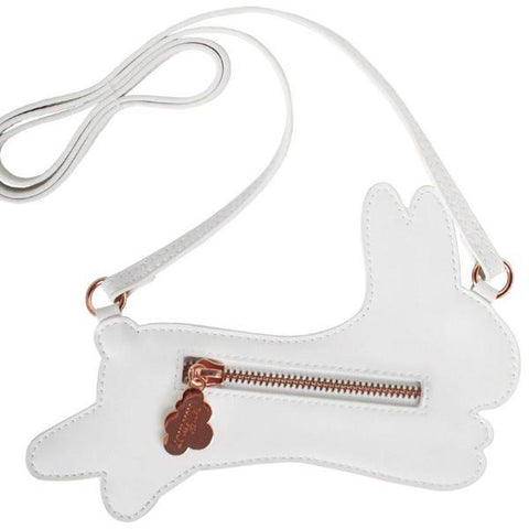 Little Cross Body Shoulder Bag - White Bunny