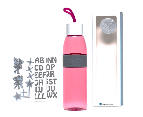 DIY Fairies - Ellipse bottle pink - 500ml