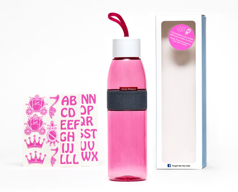 DIY Princess - Ellipse bottle pink - 500ml