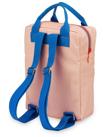 Backpack large 'Zipper Pink'