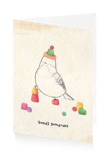 Birthday card - Goody gumdrops
