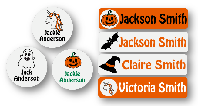 Limited edition! Halloween mini label pack