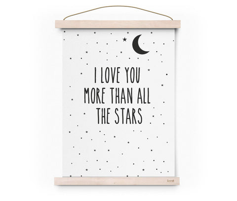 POSTER – I LOVE YOU MORE THAN ALL THE STARS