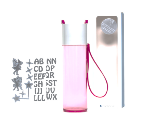 DIY Fairies - Just water bottle pink - 500ml
