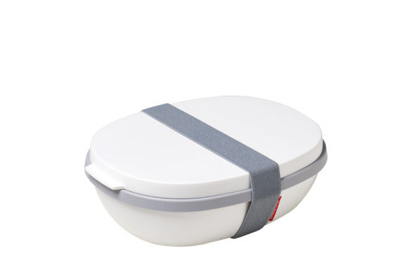 Lunchbox Ellipse Duo - White