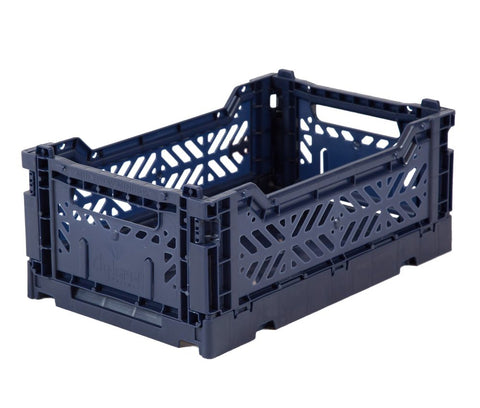 Folding Crate – Mini Navy