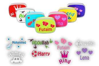 Kids midi lunch box  personalised by us!
