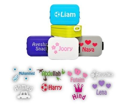 To go midi lunch box  personalised by us!