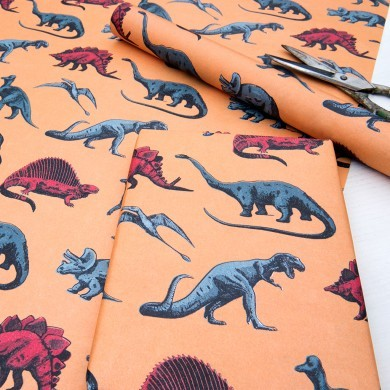 Dinosaur Wrapping Paper