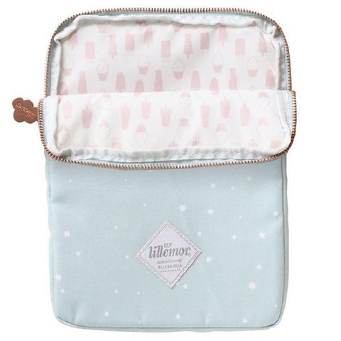 Kids Ipad  or Tablet Sleeve - Pale Blue