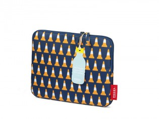 Tablet sleeve 'Traffic cone'