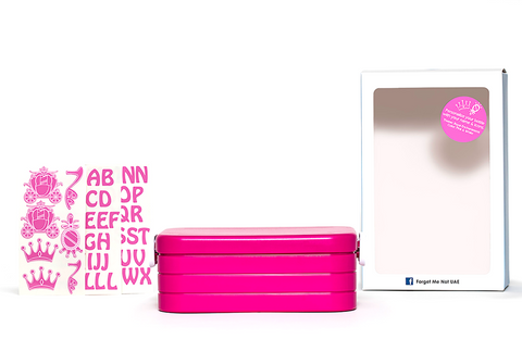 DIY Princess - Lunchbox with divider - pink