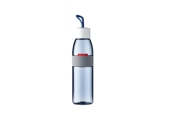 Water Bottle Ellipse 500ml/700ml - Nordic Denim