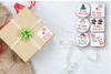 Christmas Gift Labels - White
