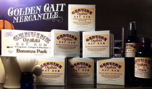 Old-Fashioned Genuine Bay Rum | Golden Gait Mercantile