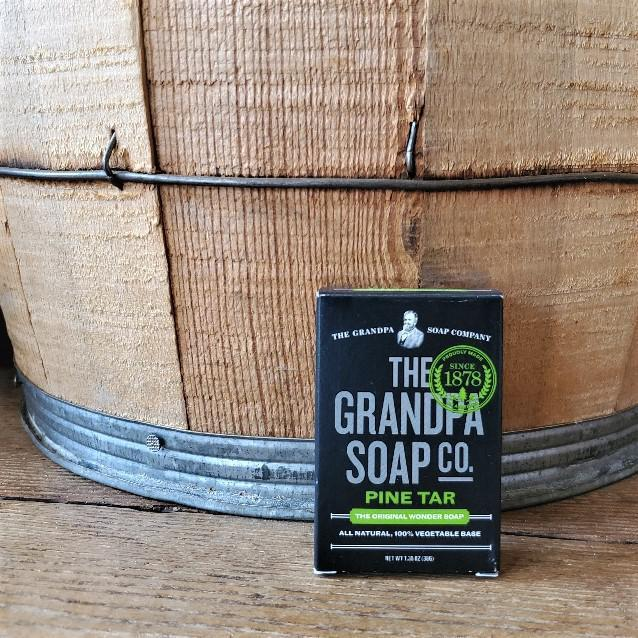 Pine Tar Soap by Grandpa Soap Company 1.35 oz