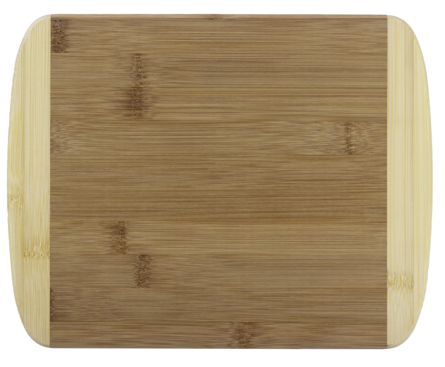 "11"" 2 Tone Cutting Board by Totally Bamboo"