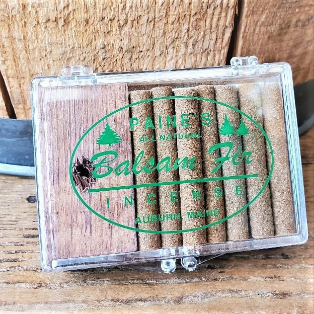 Balsam Fir Incense with holder by Paine's 14 Count w/ Holder