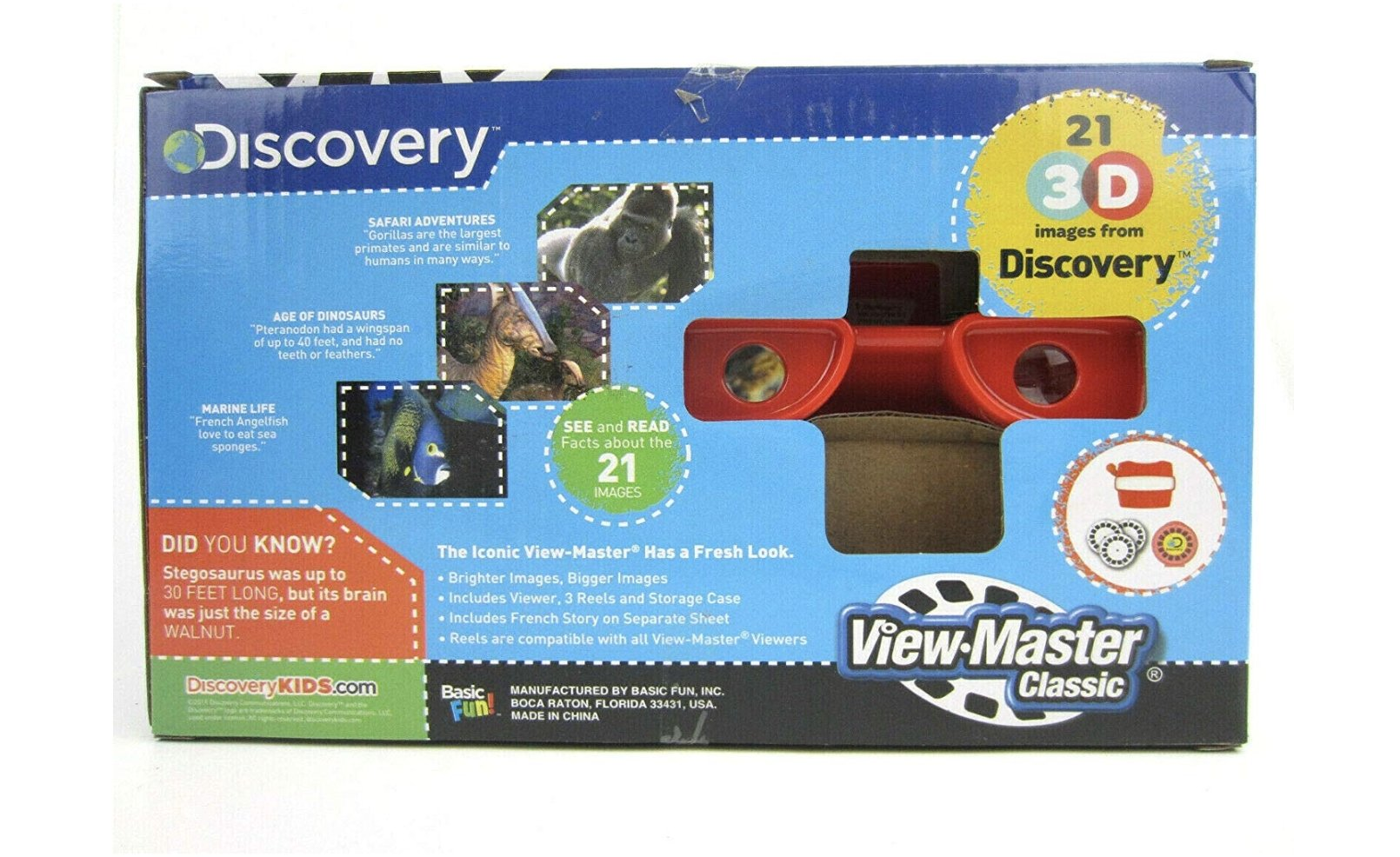 3D View-Master Discovery Kids Box Set