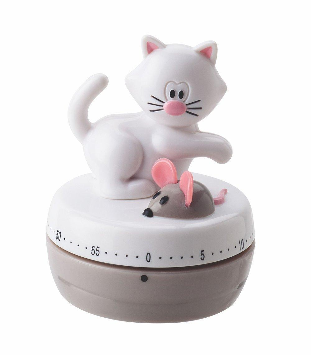 60 Minute Kitchen Timer Meow Cat