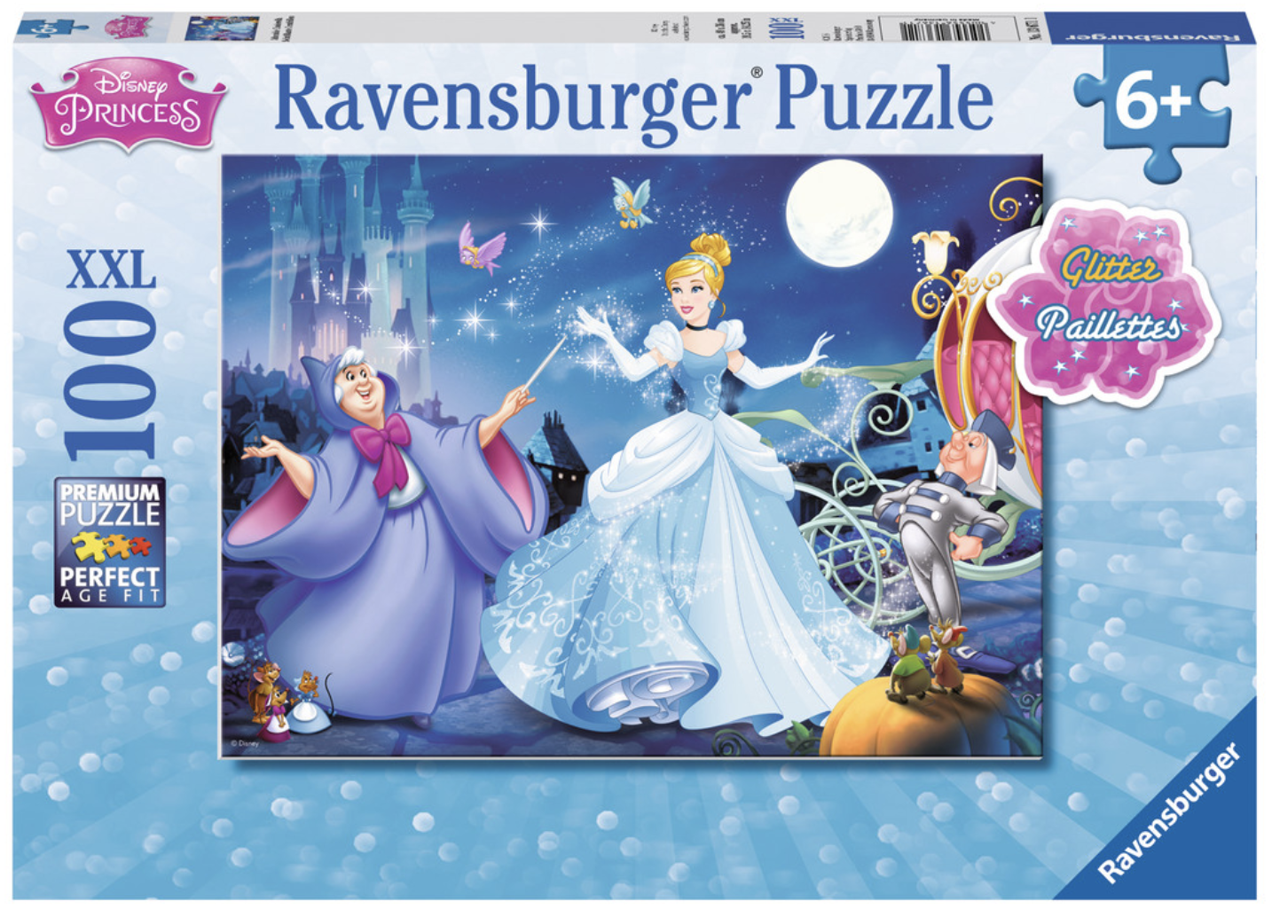 Adorable Disney Cinderella 100 Piece Puzzle by Ravensburger