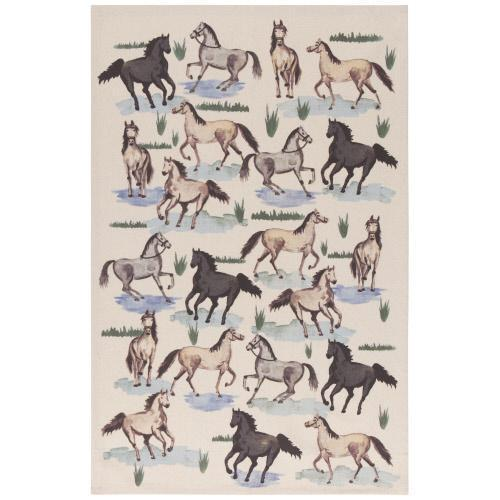 All the Pretty Horses Dishtowel