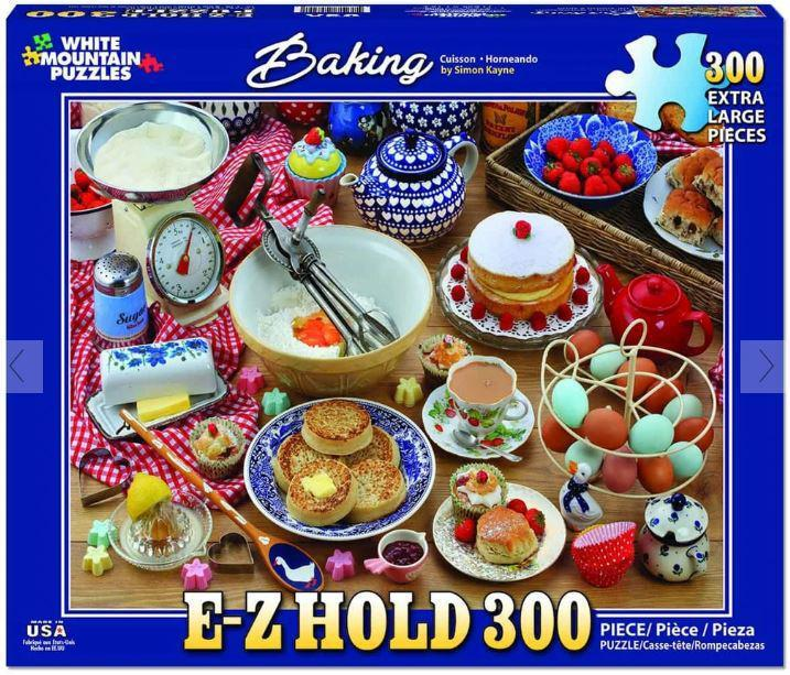 Baking 300 Piece EZ_HOLD Jigsaw Puzzle by White Mountain Puzzle