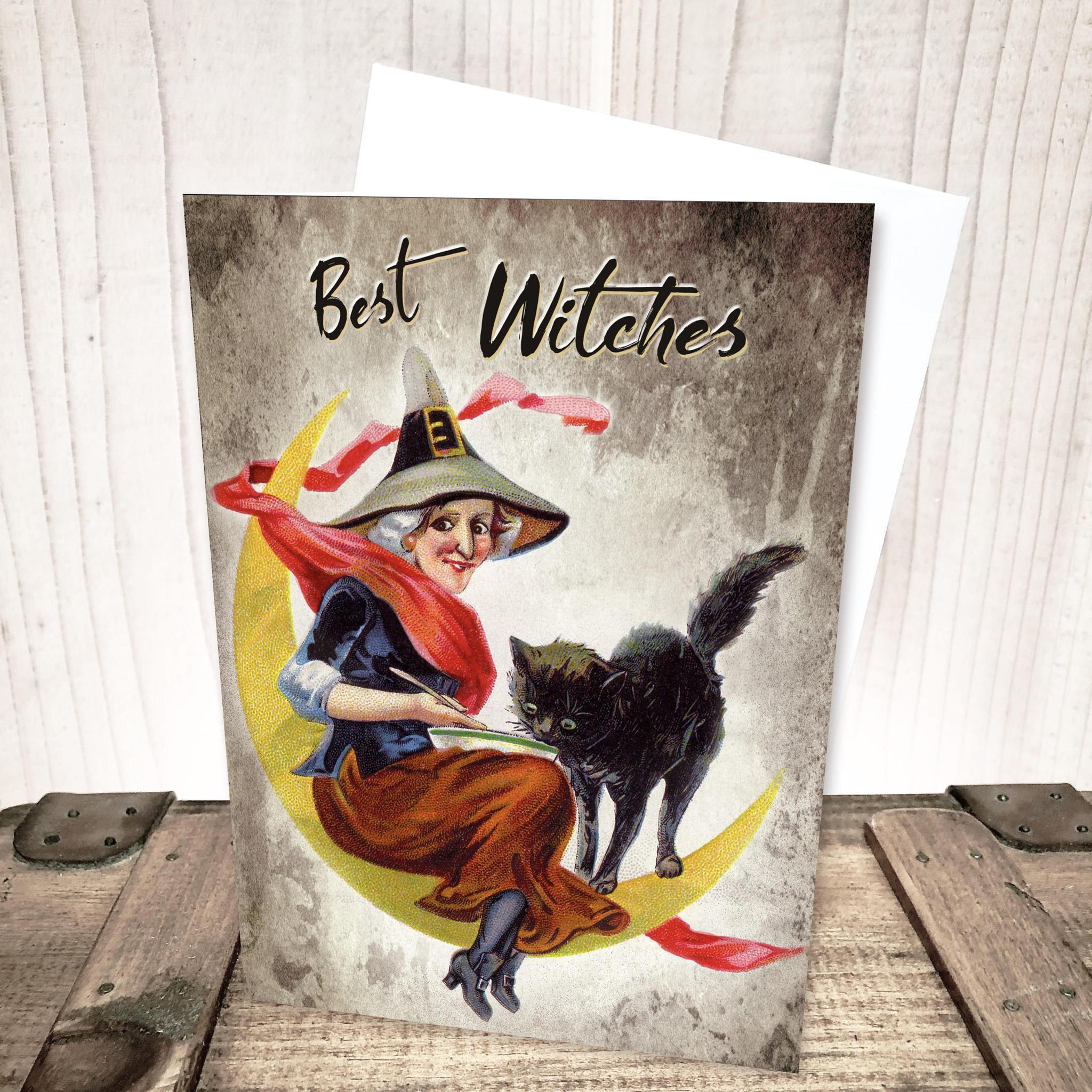 Best Witches Halloween Card by Yesterday's Best
