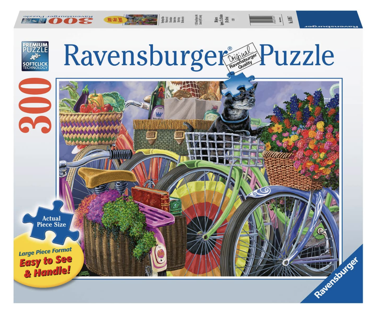 Bicycle Group 300 Piece Large Pieces Puzzle by Ravensburger