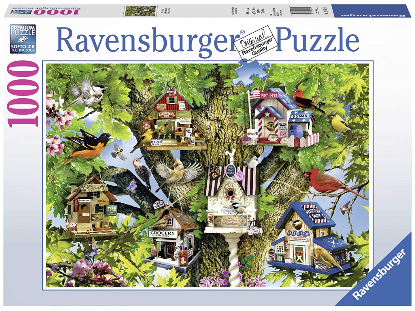 Bird Village 1000 Piece Puzzle